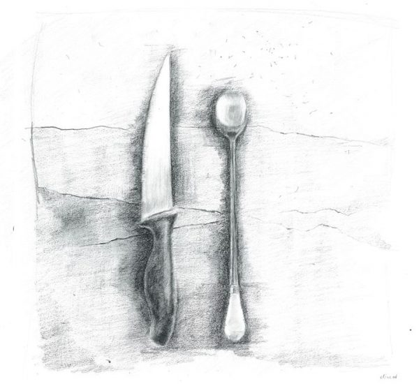 Elina Valerievna - Knife and Spoon (Cutlery)