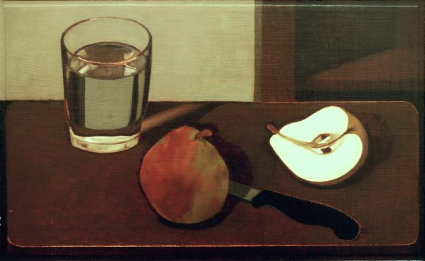 Charlotte Andry Gibbs - Still Life (Pears, Knife, and Glass of Water)